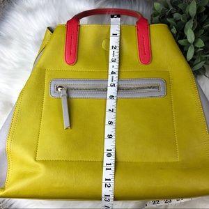 Neiman Marcus Bags - Neiman Marcus Vibrant Vegan Leather Large Tote